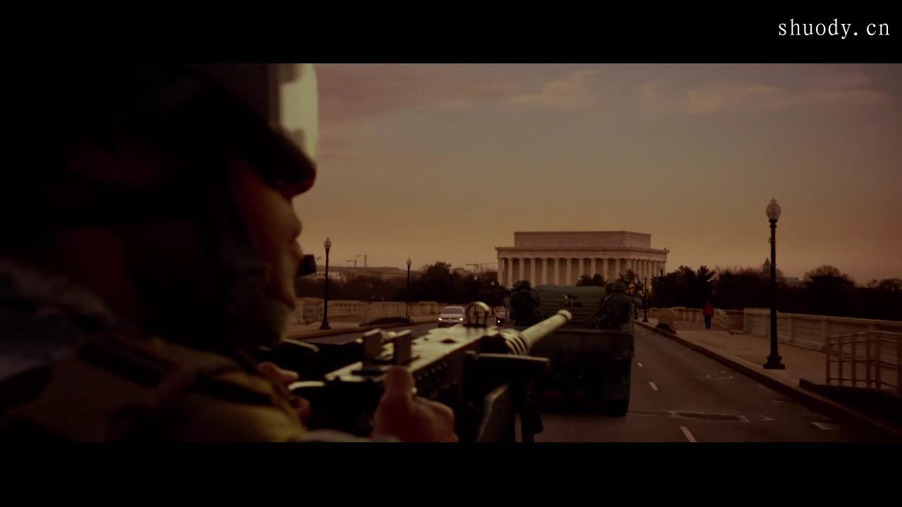 2003《白宫陷落》1300字,4分钟剧情解说稿-第3张图片