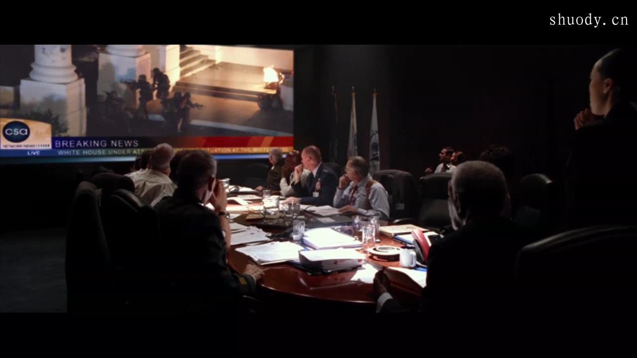 2003《白宫陷落》1300字,4分钟剧情解说稿-第7张图片